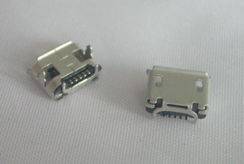 1000pcs /Tape & Reel Micro USB 2.0 Connector B Type 5pin SMT Female receptacle right angle Socket Tail SMT reflow solder locator