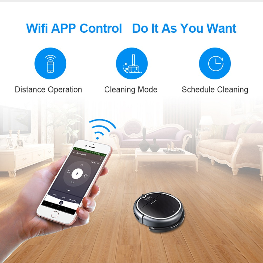 Powerful Robot Vacuum Cleaner   1