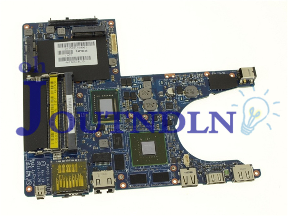 Laptop Motherboard Joutndln For Dell Alienware M11x R3 Laptop Motherboard Cn-03h1dc 03h1dc 3h1dc La-6961p Ddr3 With W/ I5-2467m Cpu Gt540m Gpu Fine Craftsmanship Computer & Office