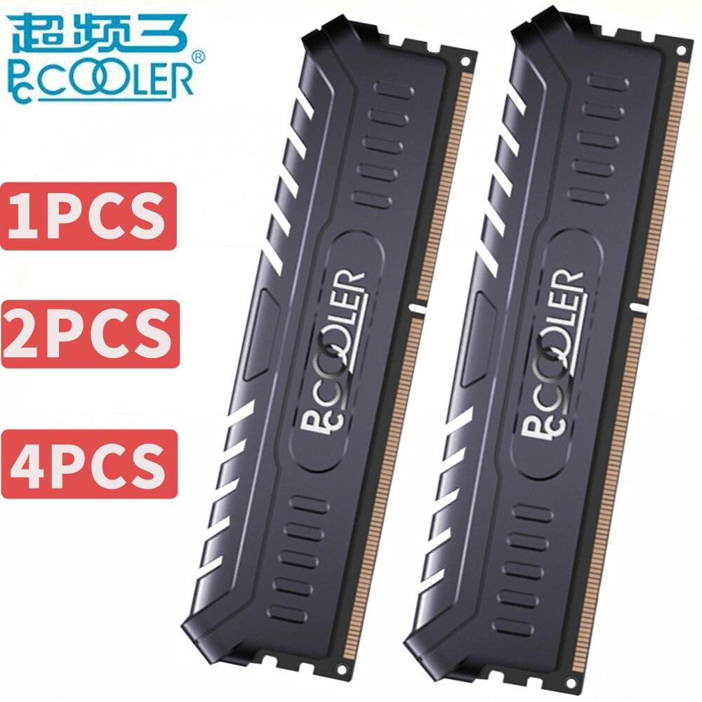 pccooler 4GB 8GB 4G 8G PC Memory RAM Memoria Module Computer Desktop DDR4 ECC PC4 19200 2400Mhz 2666Mhz 2666 2400 RAM 8GBX2=16GB corsair vengeance lpx 8gb 8g ddr4 pc4 3000mhz pc computer desktop ram ecc memory 8gb ram