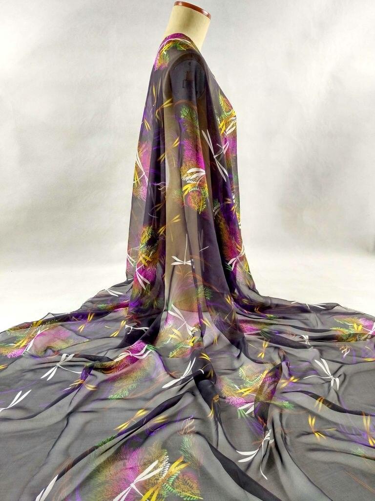 Тонкая шелковая ткань на платья