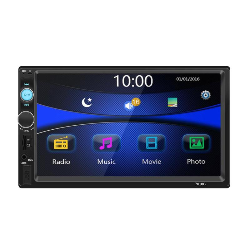 Vodool 2Din 7 стерео MP5 видео плеер gps навигации HD Bluetooth FM радио MP3 аудио Реверсивный монитор изображения USB карты памяти