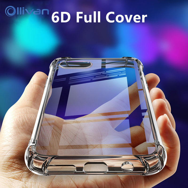 Clear Soft TPU Case For Samsung Galaxy A50 A30 A20 A10 A60 A70 A40 A90 ShockProof Cover S10 S8 S9 Plus M30 M20 M10 Silicone Case(China)