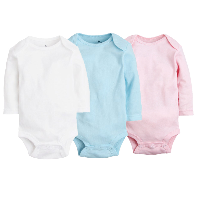Newborn Baby Clothing Pure Cotton Baby Girl Romper Long Sleeve Roupas Bebe Kids Overall Infant Boy Clothes Colorful Baby Rompers cotton baby rompers infant toddler jumpsuit lace collar short sleeve baby girl clothing newborn bebe overall clothes