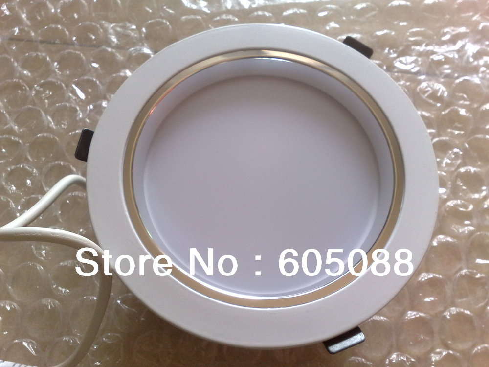 7 30w led ceiling downlight, AC110/220v triac dimmable,smooth dimming,color white 2220lm, 18pcs/lot 2016 promotion! kvp 24200 td 24v 200w triac dimmable constant voltage led driver ac90 130v ac170 265v input