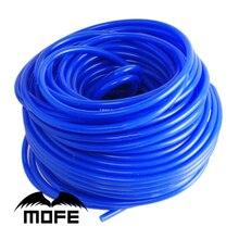 MOFE 16.4ft 1 м синий Универсальный 4 мм автомобиль силиконовые трубки Авто вакуумная трубка шланг