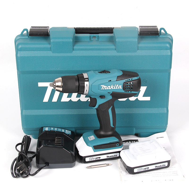 Super DF457DWE Makita lithium rechargeable drill hand drill electric IO35