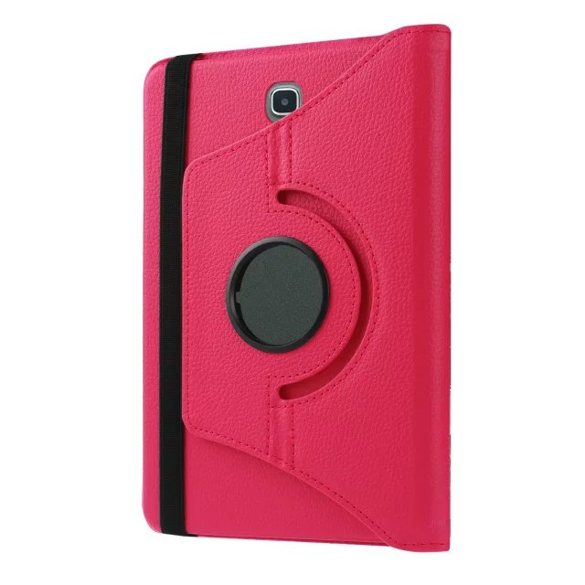 For Samsung Galaxy Tab A 9.7 T550 T555 PU Leather 360 Rotating Stand Case Cover For Galaxy Tab A 9.7 Tablet