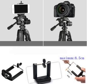 Image 2 - Trípode de foto soporte para cámara videocámara WF 3520 trípode negro tripe extensor para foto con mango bolsa de cabeza soporte de teléfono