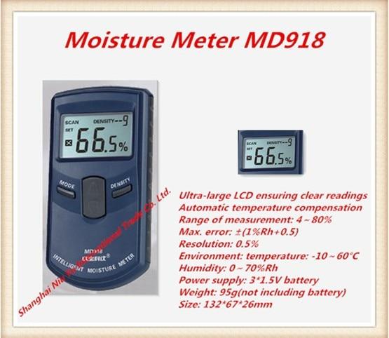 New 2015 meter wood moisture meter 10 grades of wood density available Measuring Range is 4%~80% Inductive moisture meter dali zensor 5 ax black ash