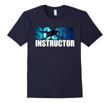 Tops Summer Cool Funny Scuba Divs Instructor T Shirt For Dive Addicts Summer Tee Shirt(China)