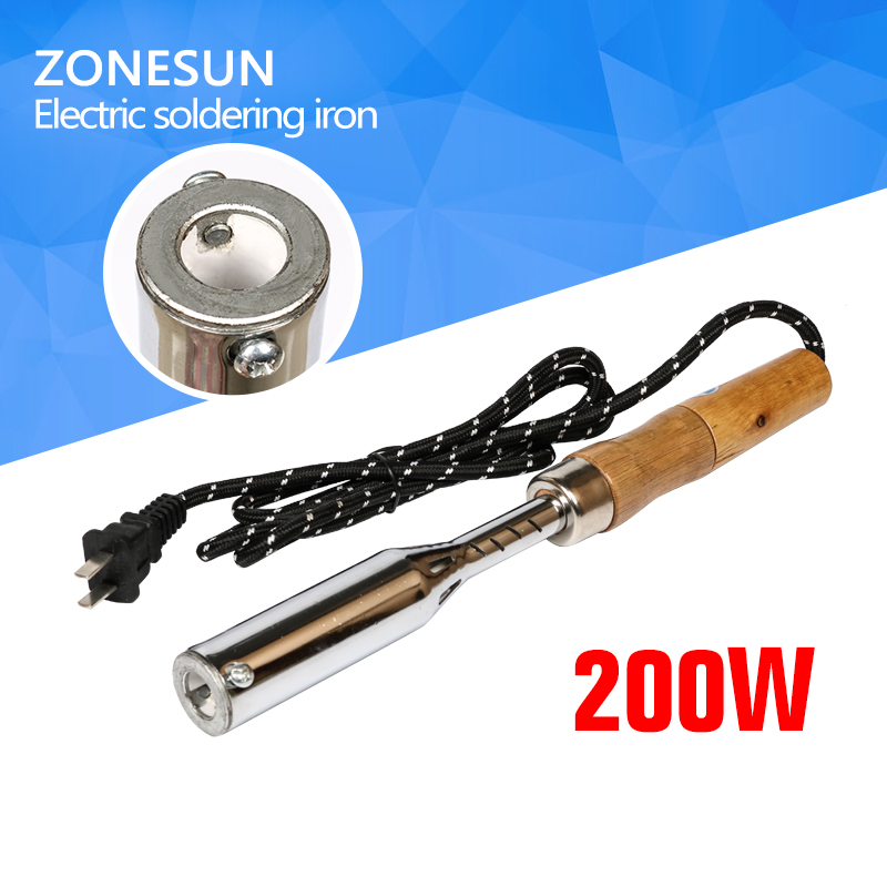 ZONESUN  150W Electric Soldering Iron Hot Embossing Stamping Leather Printing LOGO Stamping Machine Leather Cake Branding toauto digital hot foil stamping machine large 10x13cm logo embossing tool manual logo branding pvc card paper printing machine