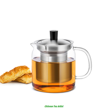Hand Heat Glass Strainer&Lid