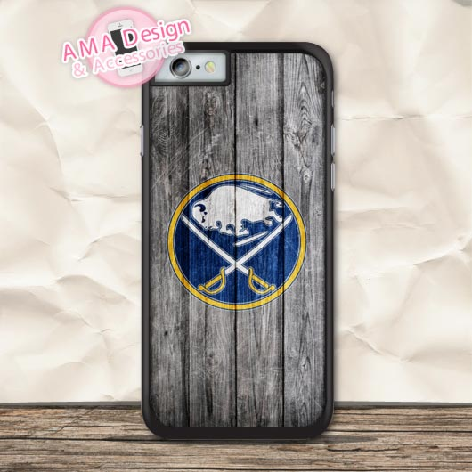 Buffalo Sabres Ice Hockey Protective Case For iPhone X 8 7 6 6s Plus 5 5s SE 5c 4 4s For iPod Touch
