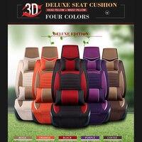 SCOTABC новые роскошные кожаные чехлы для сидений автомобиля для mercedes w124 mercedes w211 четыре сезоны Одеяло для Автомобильный подголовник