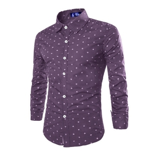 Image 5 - ZOGAA 2019 Formal casual slim fit  mens shirts Longsleeved Cotton Shirts Multi color Business Casual Korean Version Office Wear