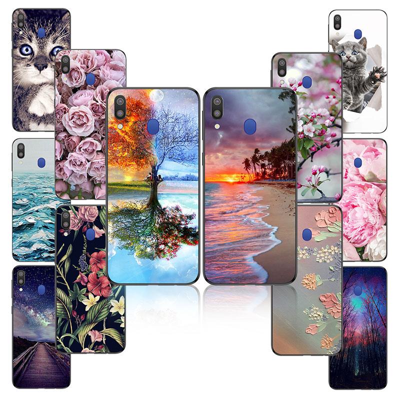 For Coque Samsung Galaxy A30 Case Silicon Cover sFor Samsung A30 A 30 2019 Phone Case sFor Samsung Galaxy A30 A305 back Cover