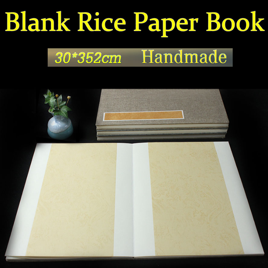 Chinese Traditional Rice Paper Album Book for Painting Calligraphy Xuan paper Art Supplies