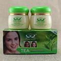 Зеленый чай Крем для лица Удаляет Пигментные веснушки увлажняющий