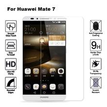 2 шт закаленное стекло для huawei mate 7 защитная пленка для экрана Защитное стекло для huawei Ascend mate 7 mate 7 MT7-TL10 MT7-CL00