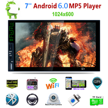 Quad-core Android 5.1 Bluetooth HD Auto DVD Stereo 7 Inch Car MP5 Player Radio Tuner 3G Wifi Connect GPS Navigation Mirror Link