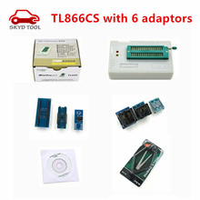 MiniPro TL866 Universal Programmer TL866CS Willem Bios Programmer Support about 13000 Chips/IC with 6 adapters free shipping