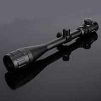 Brand new 6 24x50 AOE scope Riflescope Hunting Optics Scopes Adjustable Red Green Dot Illuminated Crosshair Sight Reticle Scope