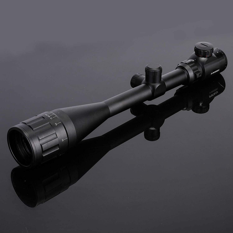 Tout nouveau 6-24x50 AOE portée lunette de visée optique de chasse portée de réticule illuminée par point rouge vert