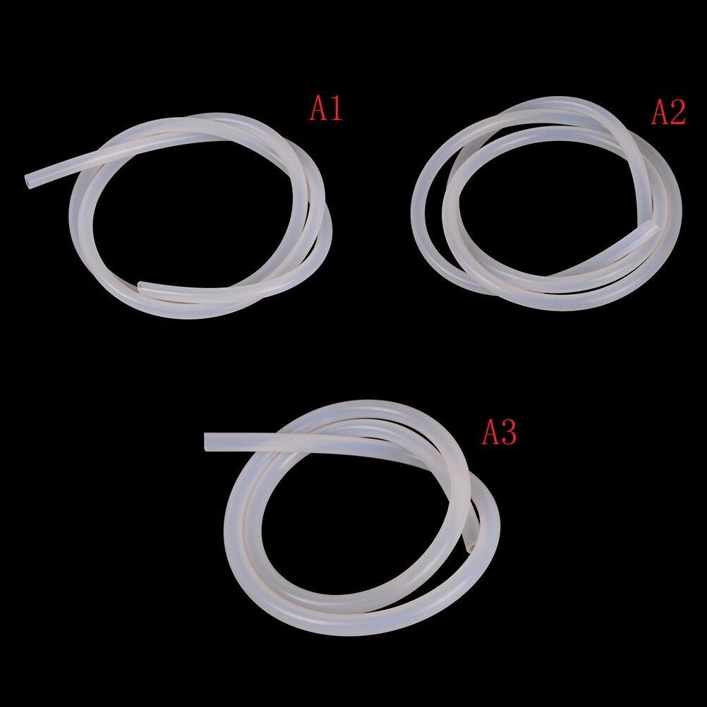 Sinnvoll 3 Größen Silikon Rohr Schlauch Transluzente Rohr Lebensmittel Grade Ungiftig Weichen Gummi R06 Drop Schiff 5x8mm 8x12mm 5x3mm 6mm X 9mm Heimwerker