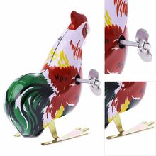 Classic Mini Clockwork Animal Cock Chick Children Wind Up Kids Educatinal High imitation chick Toys wind up toy