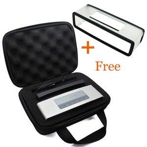 Image 2 - 2 in 1 Hard EVA Travel Storage Case + Soft Carry Silicone Case for Bose Soundlink Mini 1/Mini 2 Bluetooth Speaker Charging Cradl