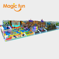 Magic Fun indoor park games for kids amusement indoor playground park indoor playground equipment prices