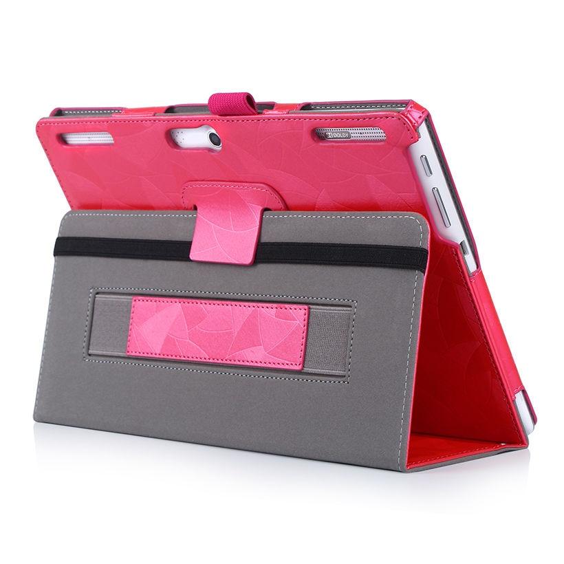 Funda con tapa de cuero de alta calidad para Lenovo Tab 2 A10-30F - Accesorios para tablets - foto 4