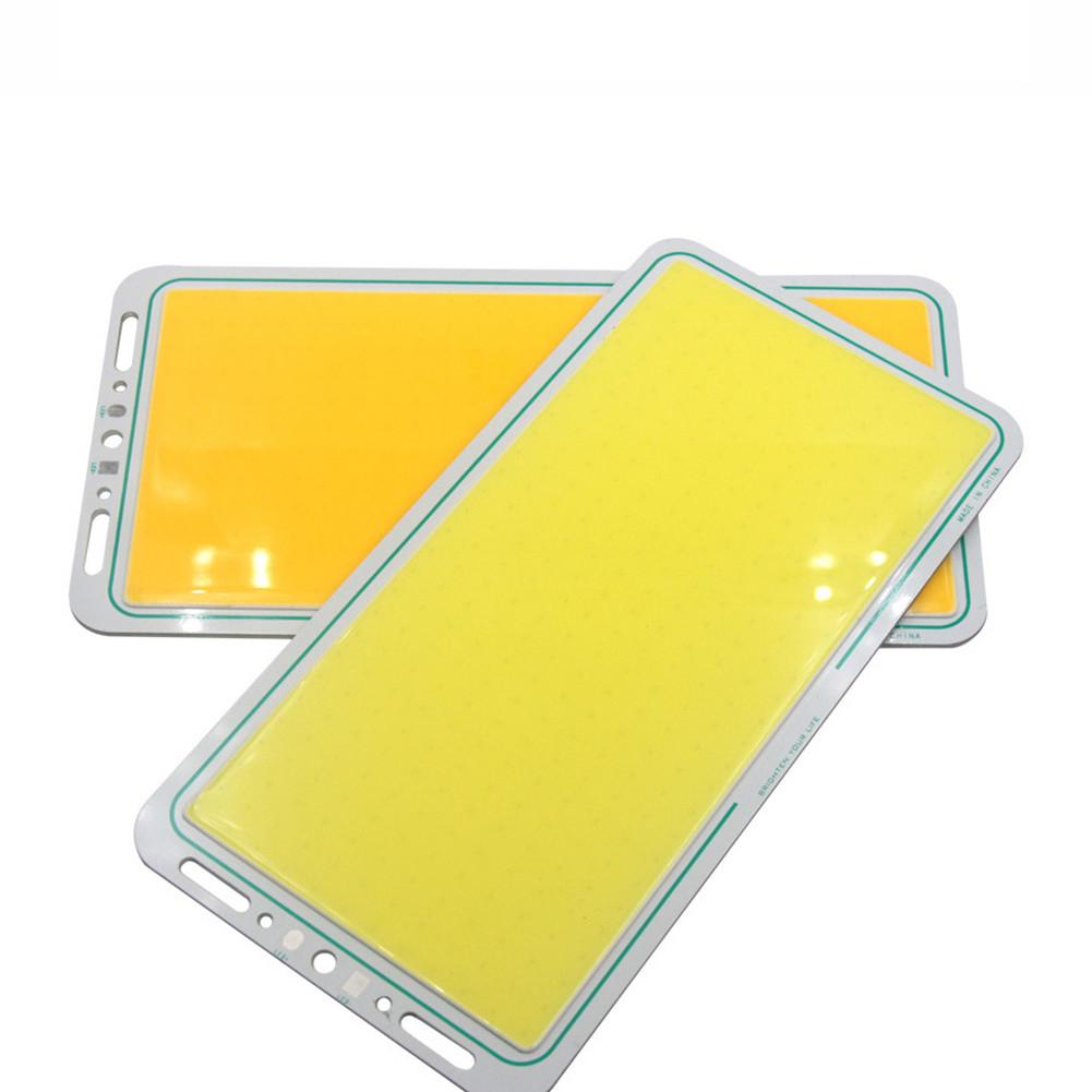 Super Bright Led Panel Light 70W 12V COB LED Chip Panel Strip Light Strip Lamp 7000lm Warm White / Cold white 220*113mm držák na mobil do auta