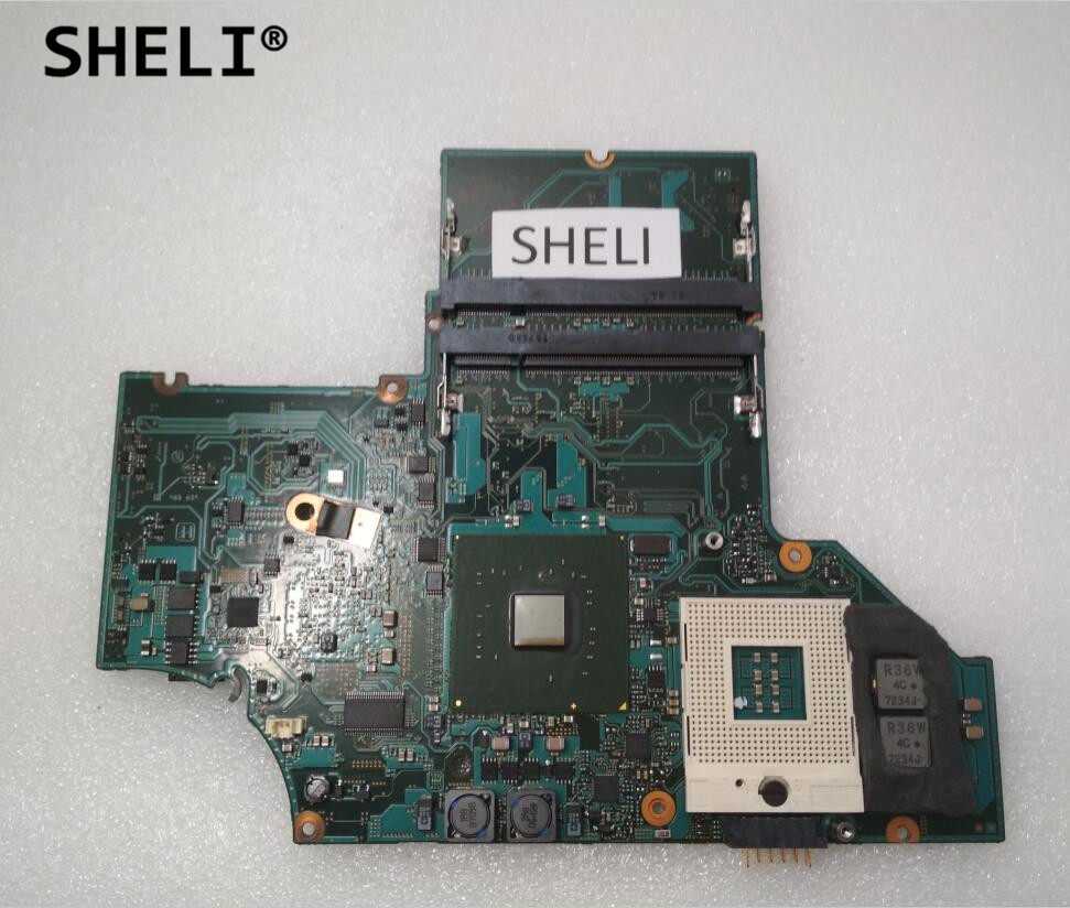 SHELI For Sony VGN-SZ MBX-147 Motherboard A1237101A with Discrete Video Card On Board cb usb5 cb usb6 12pin camera usb data cord cable for olympus sz 10 sz 11 sz 14 sz 20 sz 31mr om d e m5 tg 1 tough 3000 camera