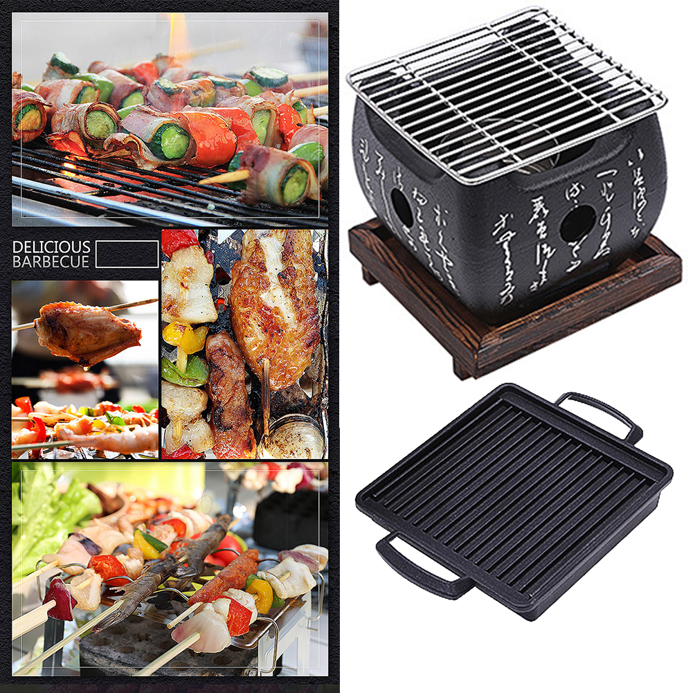 Outdoor Picnic Garden Charcoal Grill 1