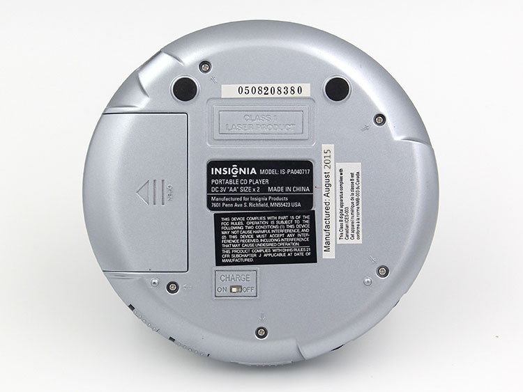 High Quality Portable CD Player Walkman CD player CD-R/CD-RW Powered BY AA Battery(No Included) or Wall Charger Or Power Bank