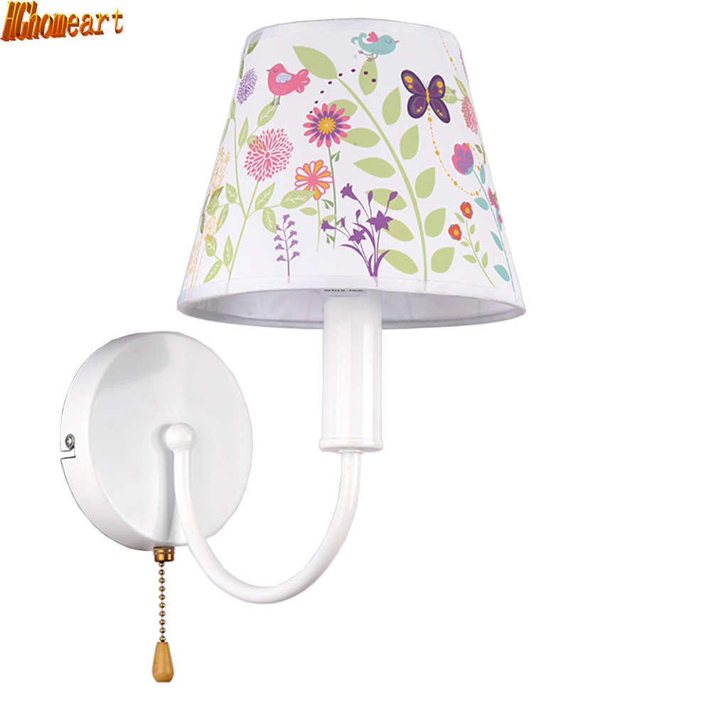 Childrens Wall Lamp: Aliexpress.com : Buy HGhomeart LED E14 Cartoon Children's