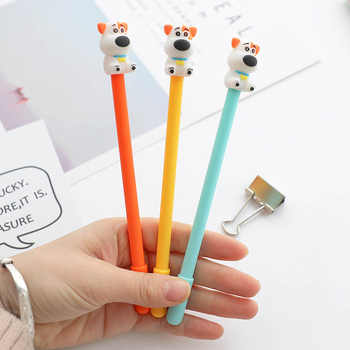 30 Pcs Gel Pen Cute Dog Neutral Pen 0.5mm Black Pens Creative Stationery School Supplies Wholesale Gifts for Writing Supplies - DISCOUNT ITEM  32 OFF Education & Office Supplies