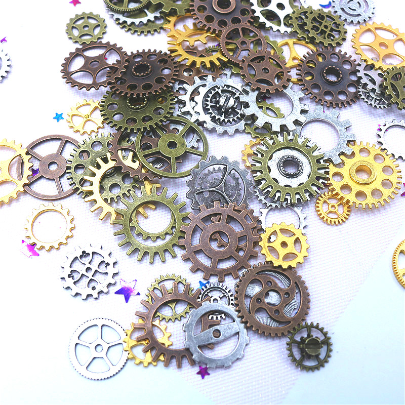 Color-Mixture-Mechanical-Gear-Steampunk-Retro-DIY-Handmade-Alloy-Vintage-Jewelry-Accessories-Poke