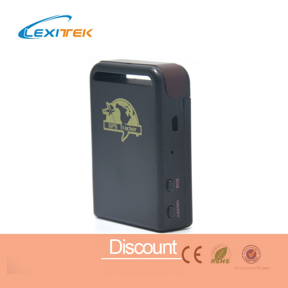 free shipping portable gps tracker quad band tk102 vehicle personal gsm gprs gps tracker sms. Black Bedroom Furniture Sets. Home Design Ideas