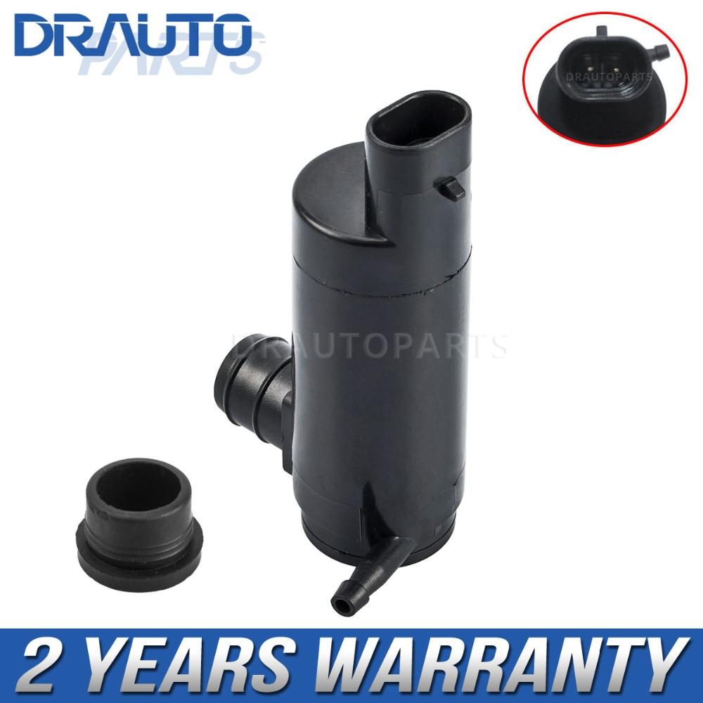 Front Rear Windscreen Washer Pump For Chevrolet Captiva 2007-2011 w/Grommet 93731451