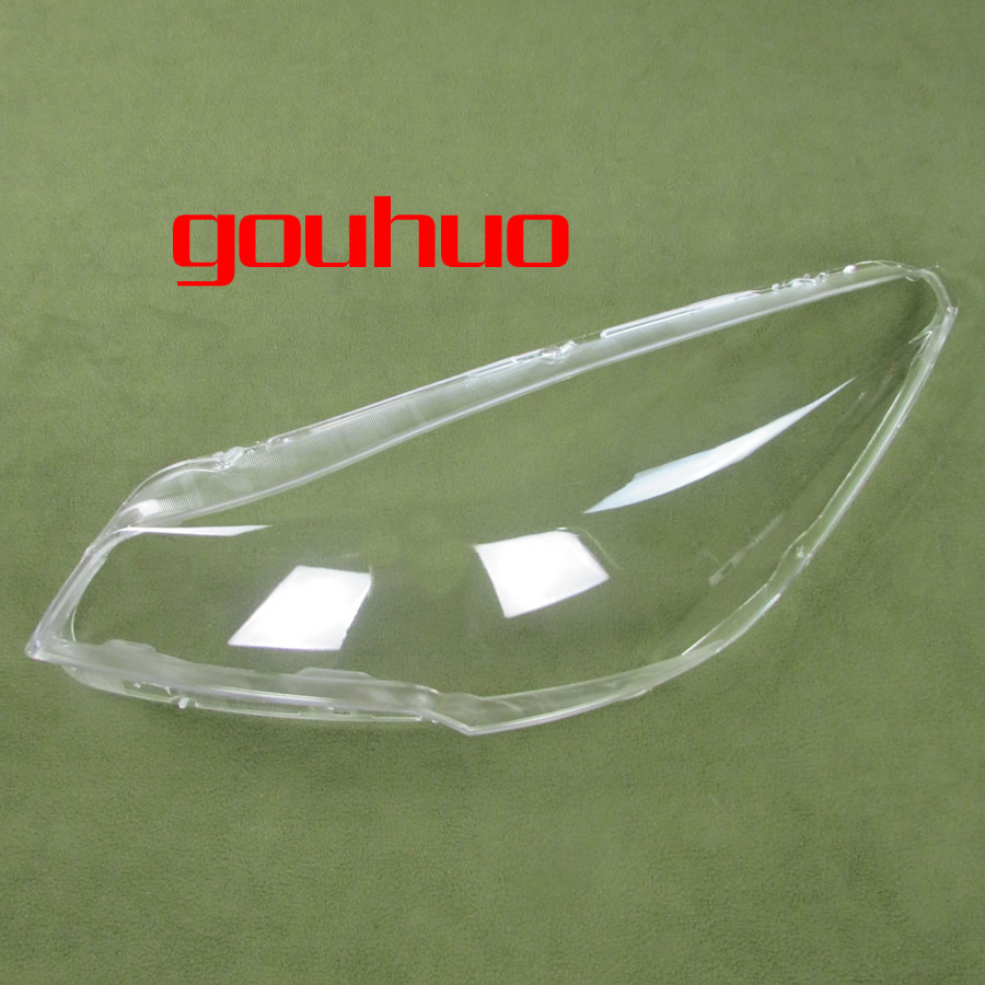 front headlamps cover glass transparent lampshades lamp shell masks For Ford KUGA 13-16 2pcs 2013 headlamps for chery qq front headlamps assembly before the lamp lights with bulb