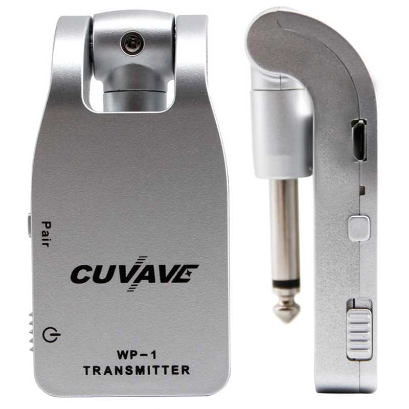 Cuvave Wp-1 2.4g 무선 기타 시스템 송신기 및 수신기 내장 충전식 리튬