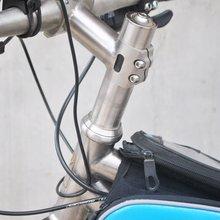 цена на CHOOSE Bike Headset Spacer 5/10/15/20/25/30 mm Titanium Bicycle Headset Washer