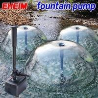 Германия 2500 EHEIM кои пейзаж понг Mute фонтан погружной насос Fishpond садовый фонтанный насос цвет фонтан со светодиодный подсветкой