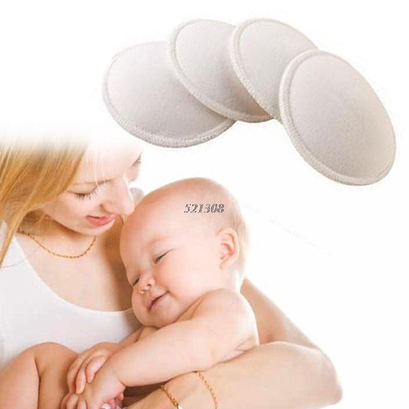 4x absorbance douce étanche fournitures de maternité coussin d'allaitement soutien-gorge d'allaitement (lot de 4)