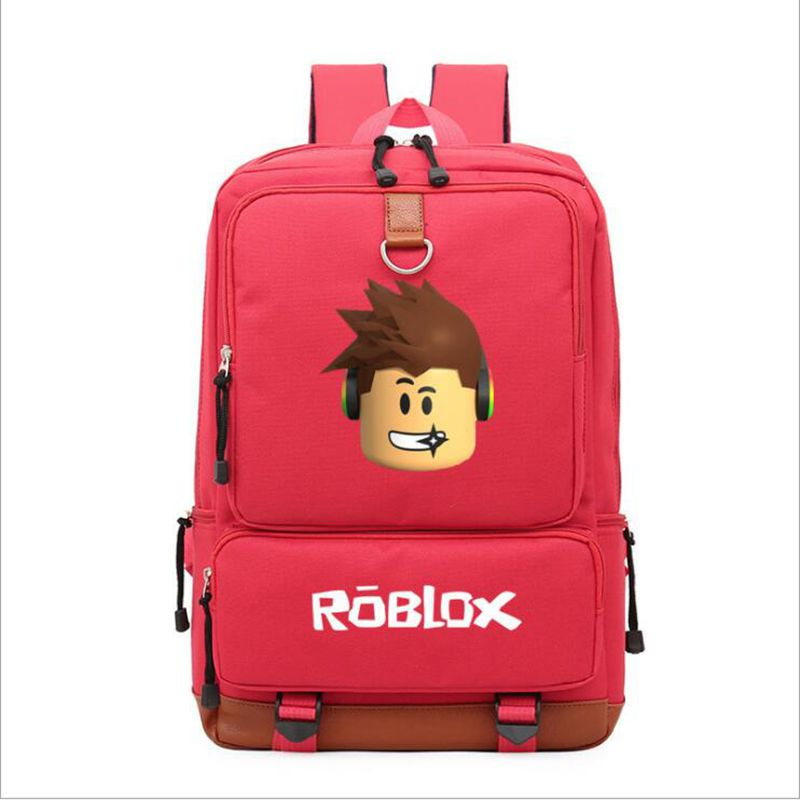 Roblox game casual backpack for teenagers Kids Boys Children Student School Bags travel Shoulder Bag Unisex Laptop Bags anime game zelda link school backpack for boy girls bags cartoon student bookbag unisex color shoulder laptop travel bags