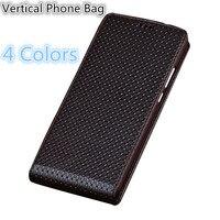 SS04 Natural Leather Phone Bag For Asus Zenfone 2 Laser ZE601KL Up and Down Vertical Flip Cover For Zenfone 2 Laser(6.0') Case