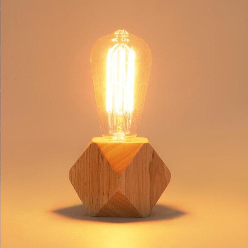 Moderne Tisch Lampe Led Die Alte Weisen Holz Schreibtisch Licht